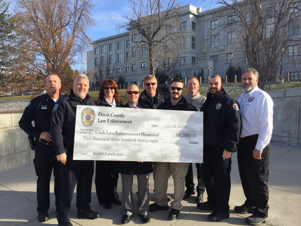 Davis County Agencies Present Check