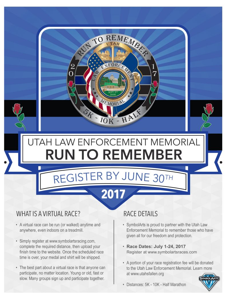 Run to Remember Race Flyer